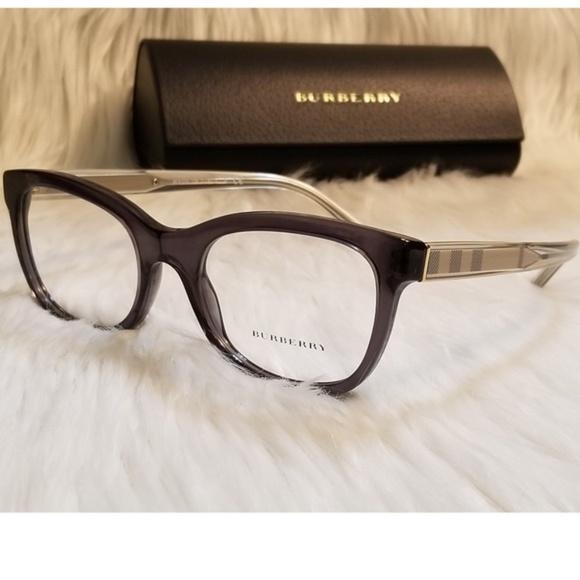 9831fd5dc422 Burberry Rx Eyeglasses 51mm Black DarkGray Optical